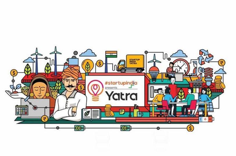 Start-up Yatra van in Tezu, Arunachal