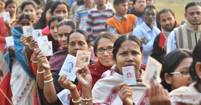 Poll observer Vikash Joshi visits and reviews Lakhipur poll scenario