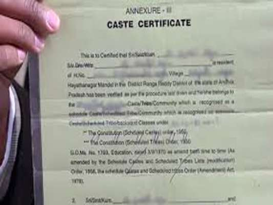 Magisterial inquiry instituted to ascertain the caste certificate of Swarup Das
