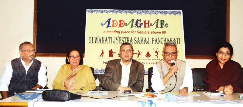 An Adda Ghar For The Elderly at The Residence of The Noted Writer