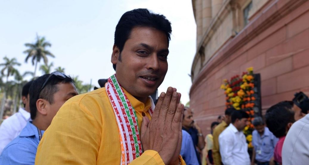 Tripura's Bank CD to Touch National Average Soon: Biplab Kumar Deb