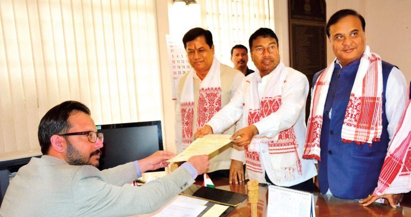 Many Heavyweights File Nomination Papers