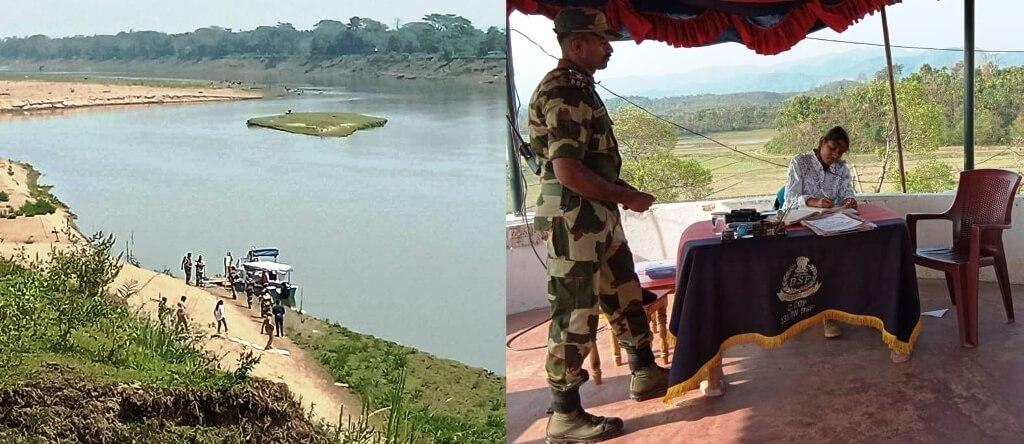 Cachar Deputy Commissioner Laya Madduri visits Indo Bangla international border