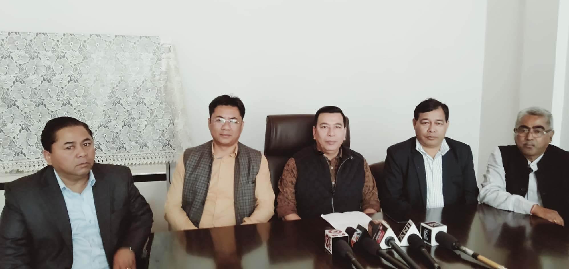 'Congress all geared up' says Congress spokesperson HM Shiangpliang