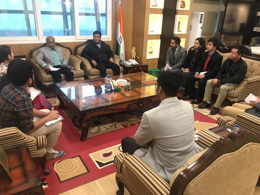 Deputy Commissioner Himanshu Gupta convenes meeting