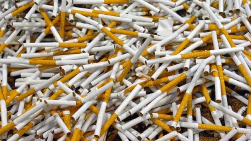 Huge Amount of cigarettes Seized By Government Railway Police (GRP)