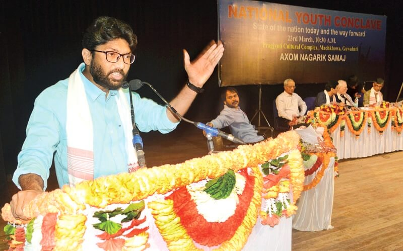 BJP will curb democratic rights if voted back to power: Jignesh Mevani