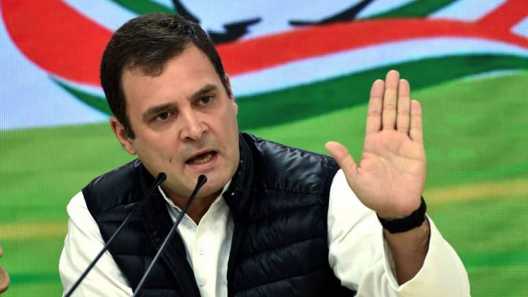 Rahul Gandhi to campaign in Northeast