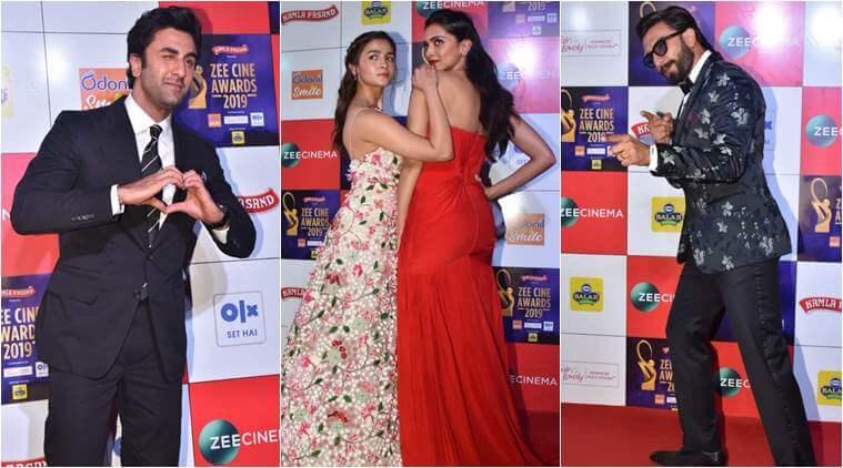 Ranveer Singh, Alia Bhatt Win Zee Cine Awards