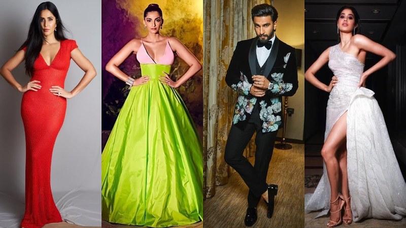 Katrina Kaif, Janhvi Kapoor, Ranveer Singh Glam It Up At Hello Hall of Fame Awards
