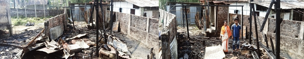 Relief measures extended to fire victims of Silchar