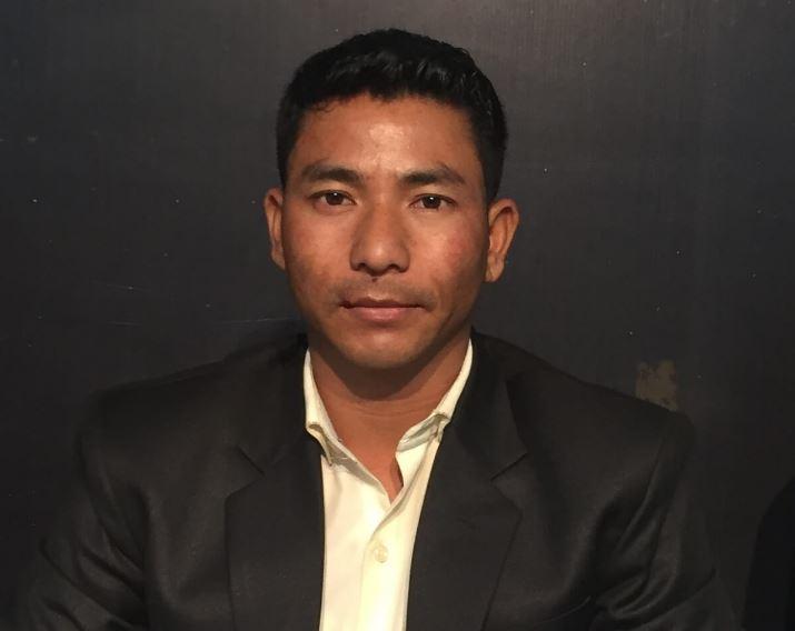 Former athlete Samuel Hashah jumps into Shillong poll fray