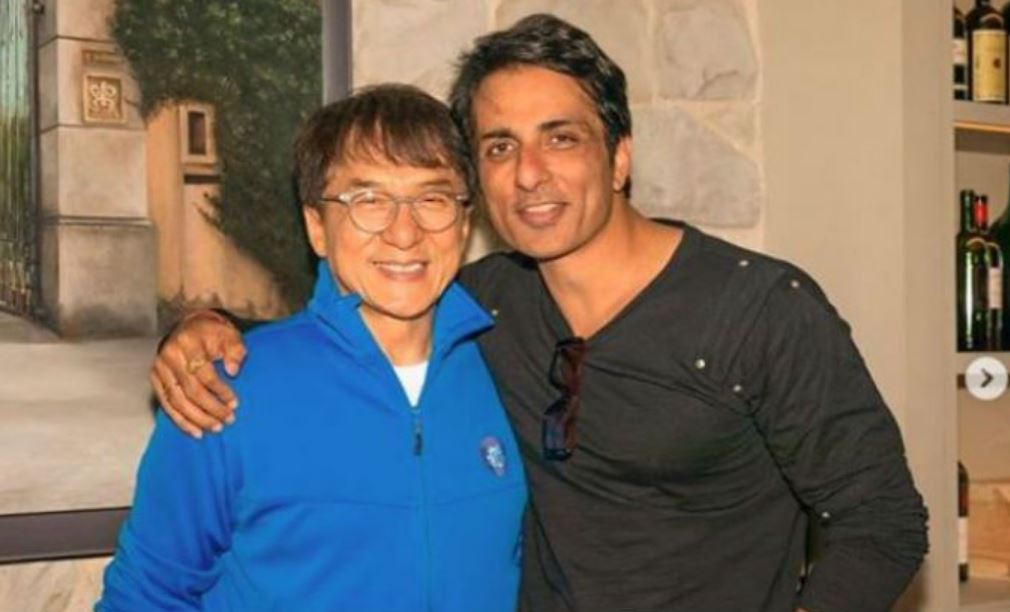 Jackie Chan, Sonu Sood Meet Up For Dinner