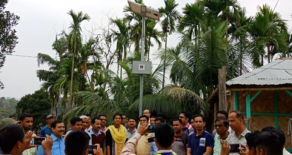 Bringing Solar Street Lights A Ray Of Light To Remote Areas In Hailakandi District