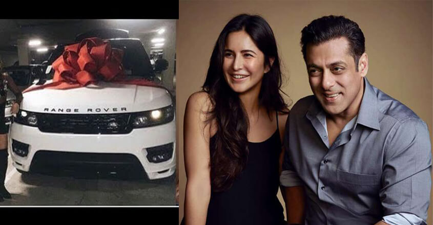 Salman Khan Gifts Luxury Car To Katrina Kaif