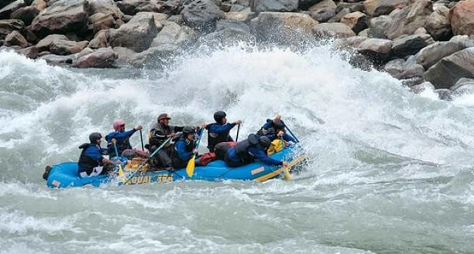Indo-Bangla white water rafting culminated at Pangin