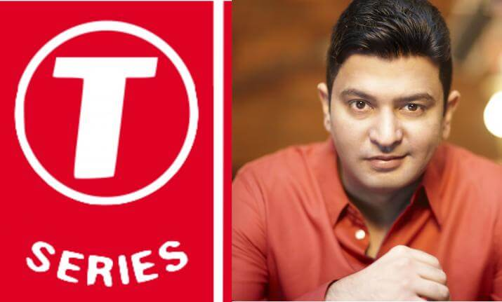 T-Series bags No. 1 YouTube channel spot
