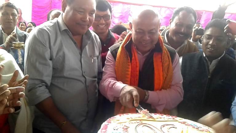 BTC Chief Hagrama Mohilary celebrates 50th Birth Anniversary in Udalguri