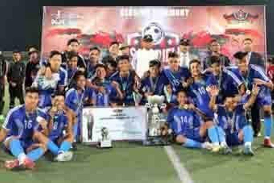 Lawmali lift Assam Rifles Invitational Football title
