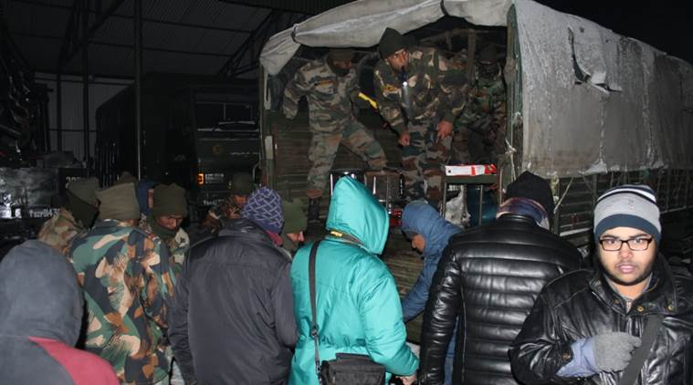 Army rescues stranded tourists in Sikkim