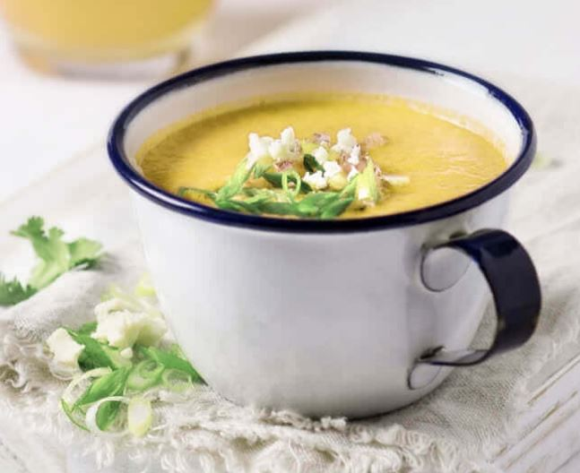 Pineapple Gazpacho for Weight loss