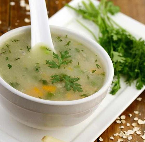 Garlic Vegetable Soup For Weight Loss