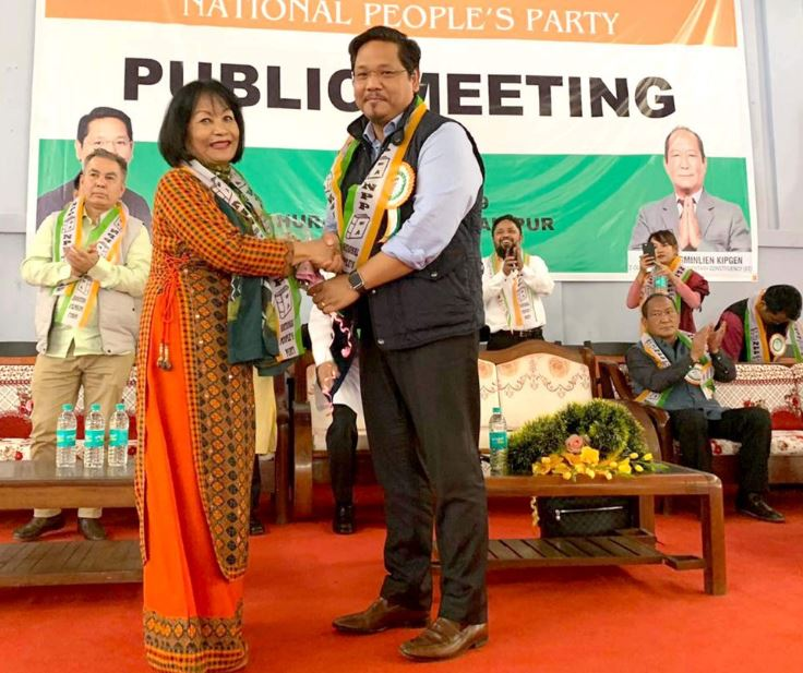 Denied ticket, Manipur ex-MP Kim Gangte quits BJP to join NPP
