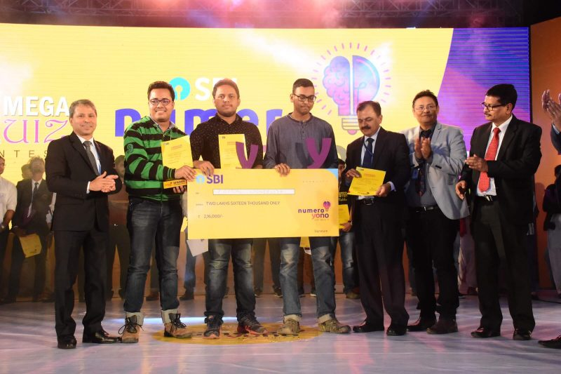 Biggest Quiz Competition Calls SBI NUMERO YONO Held At ITA Centre Machkhowa