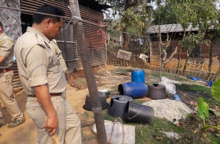 At least 2000 litres of Fermented Wash & 40 litres of country-made liquor destroyed in Guwahati