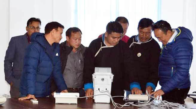Tawang conducts third round of election training