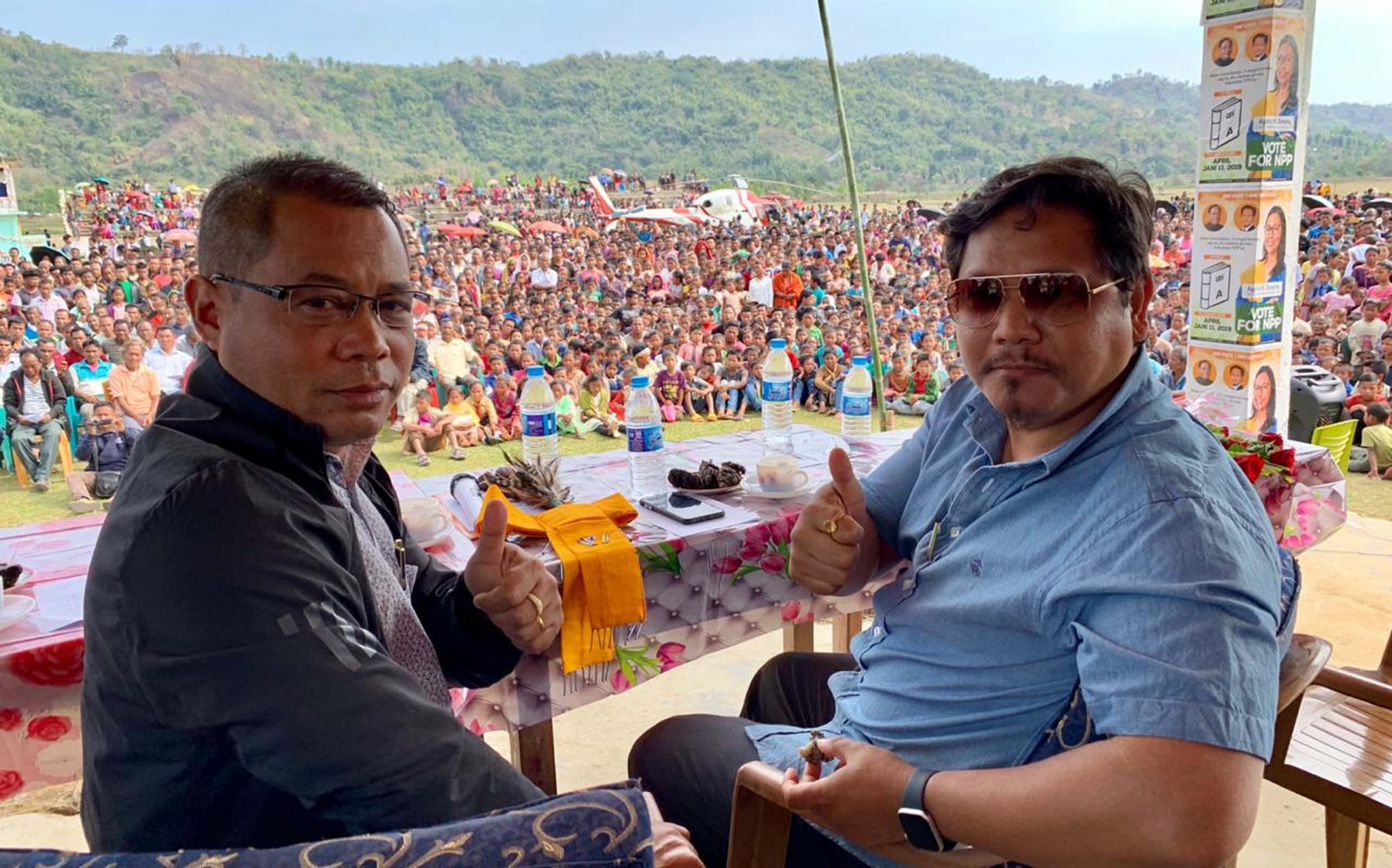 People of NE has given due recognition to National People's Party: Conrad K Sangma