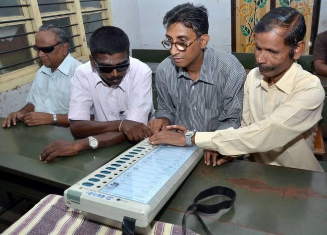 Election Commission's special arrangements for PwDs