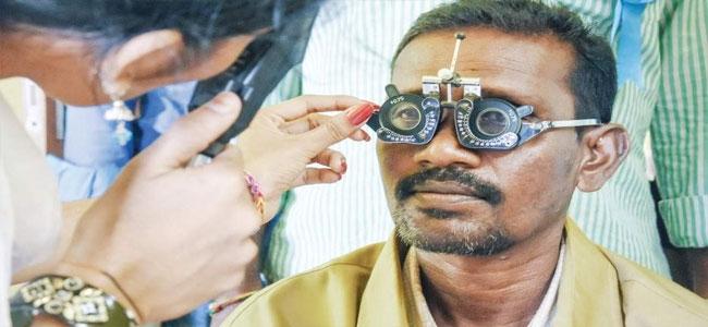 Vision screening camp organized by Sri Sankardev Nethralaya, Guwahati