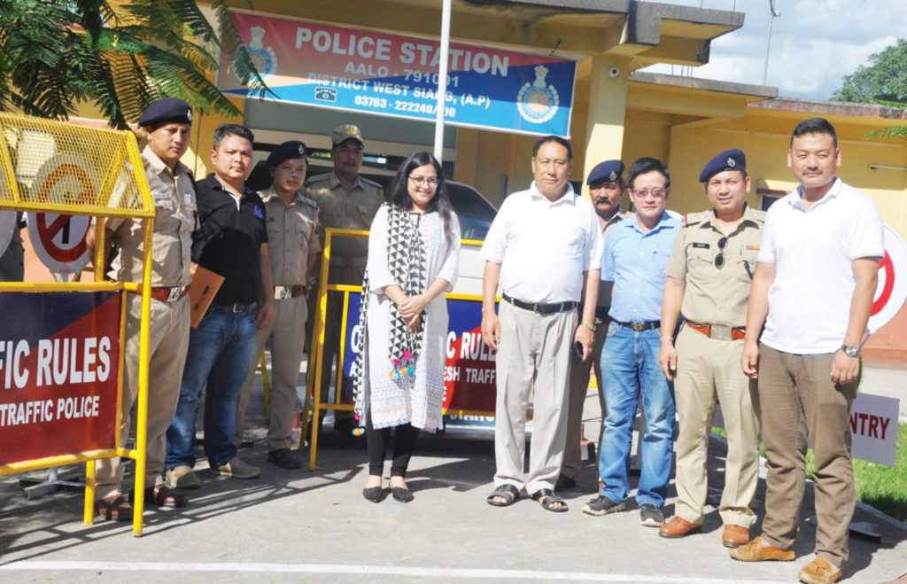 Traffic congestions and other issues in Arunachal district discussed by West Siang Deputy Commissioner Swetika Sachan