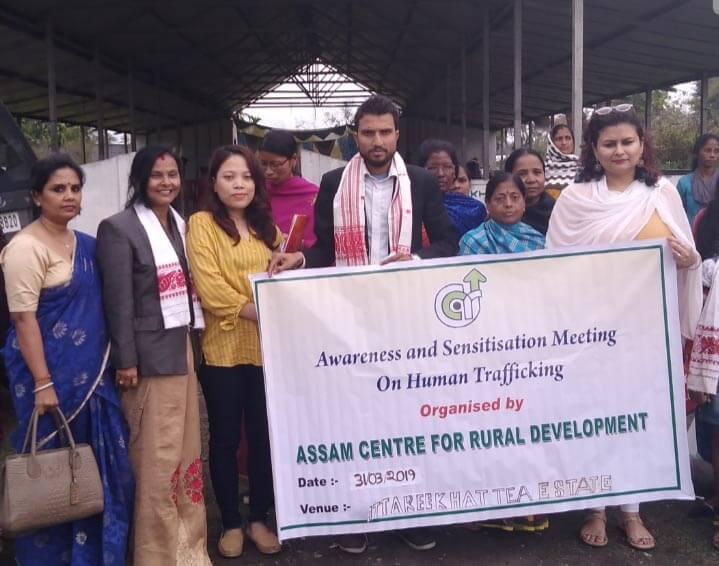 Awareness meet on human trafficking held by the Assam Centre for Rural Development