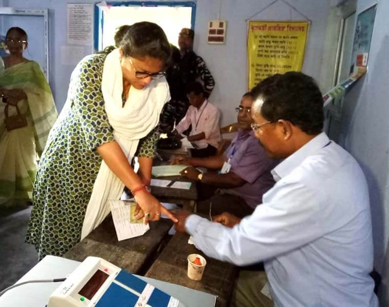 Barring Minor Incidents, Polling Peaceful In Silchar