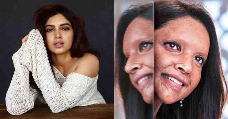 Bhumi Pednekar Lauds Deepika Padukone For Her Look In Upcoming Film Chhapaak, Says She Is Proud of Her