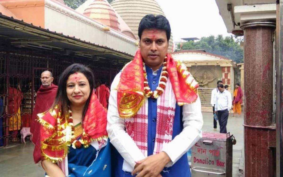 FB user booked for spreading 'divorce' rumours of Tripura CM Biplab Kumar Deb