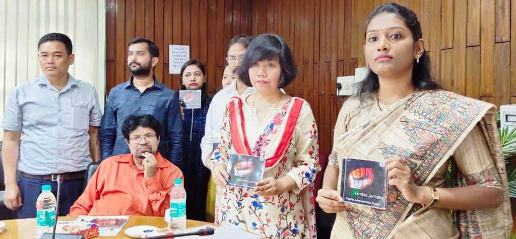 Cachar Deputy Commissioner releases voters' anthem