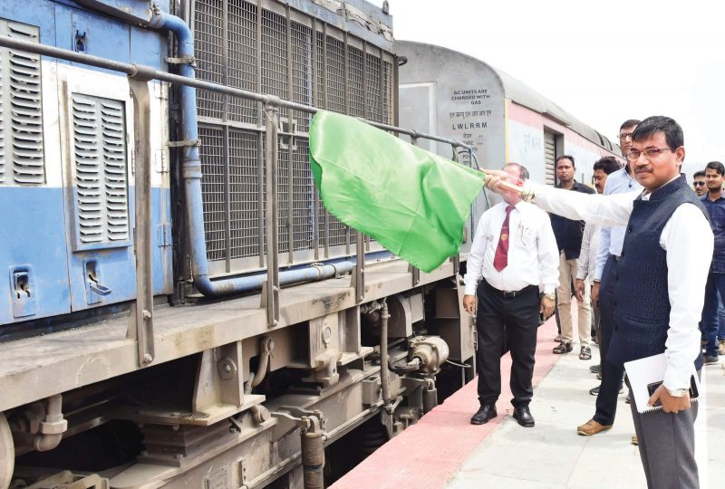 Election Commission Ties Up With NFR, Flags Off Gandhidham Express