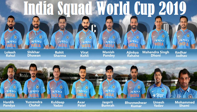 A bird's eye view of India's WC team