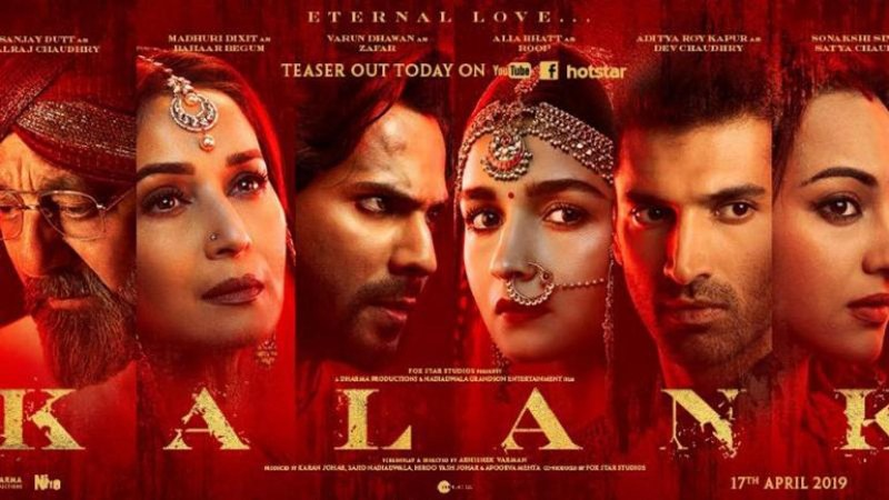 Kalank Gets Rs 21 Crore Opener, Highest of 2019
