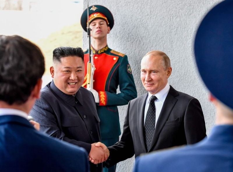 North Korean leader Kim, Vladimir Putin Better Ties