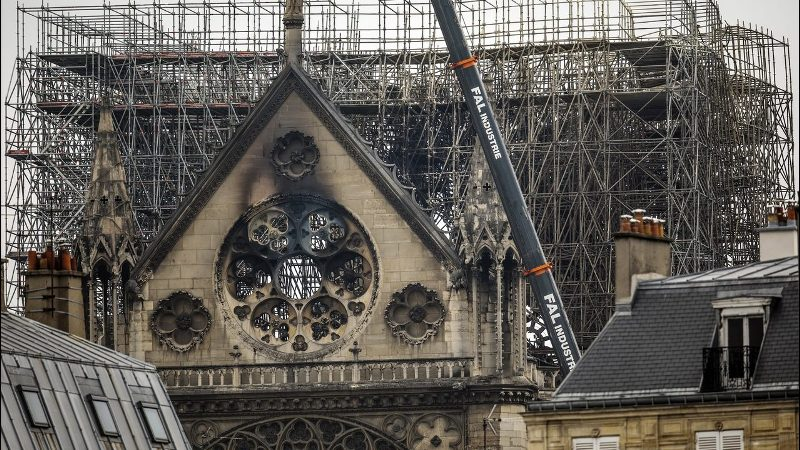 Construction Workers Questioned Over Notre Dame Fire