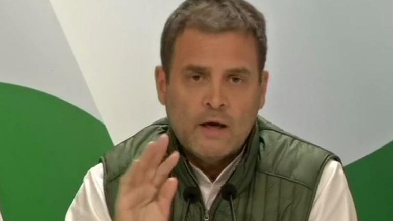 NYAY will boost country's economy: Congress President Rahul Gandhi