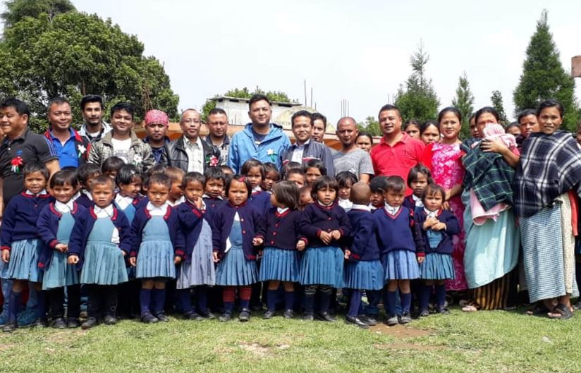 Shillong scribes provide aid to Angels' Space School in Mawkynrew