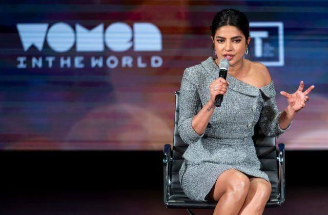 Sexual harassment had become norm with women: Priyanka Chopra Jonas