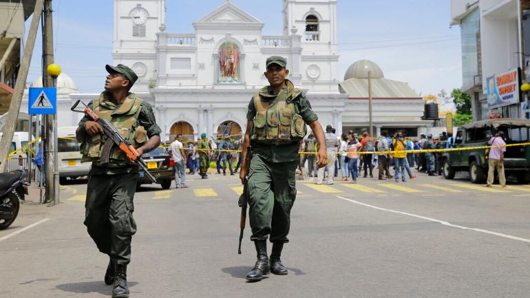 World Condemns Multiple Blasts In Sri Lanka