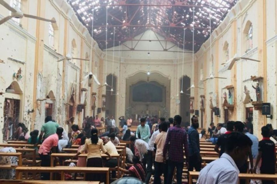 Seven people arrested accused in the Srilanka serial bomb blasts