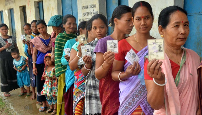 Over 81% polling recorded for the first phase of balloting in Tripura